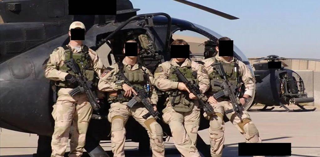 members of U.S. special forces - The famous CIA raid in Syria near Abu Kamal during 2008