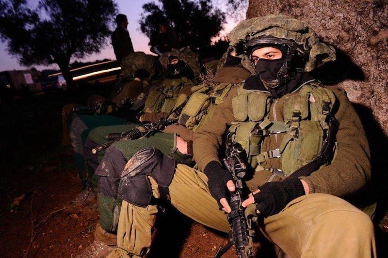 Sayeret Tzanhanim members