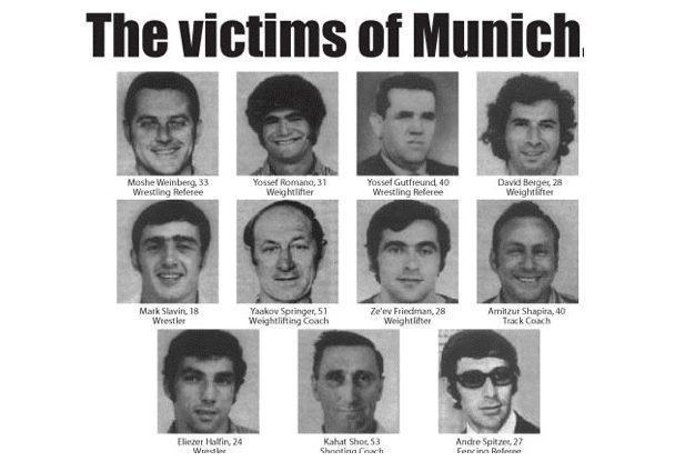 The 1972 Munich Massacre victims