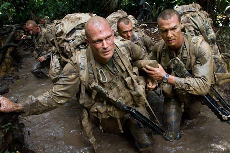 French Foreign Legion (Legion Etrangere) during training - Enlisting in French Foreign Legion
