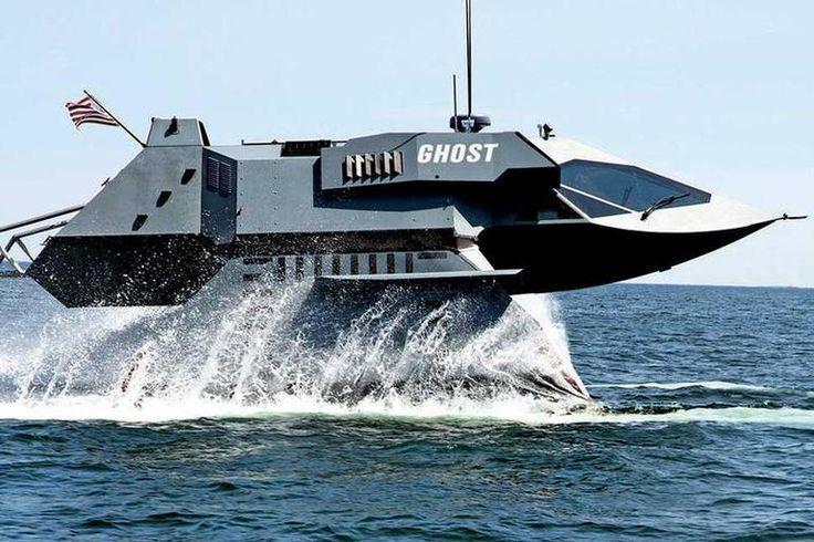 GHOST boat for special operations - GHOST - high-capable boat for special operations