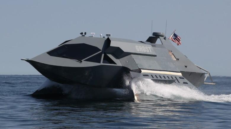 Ghost - the futuristic boat for special operations 2