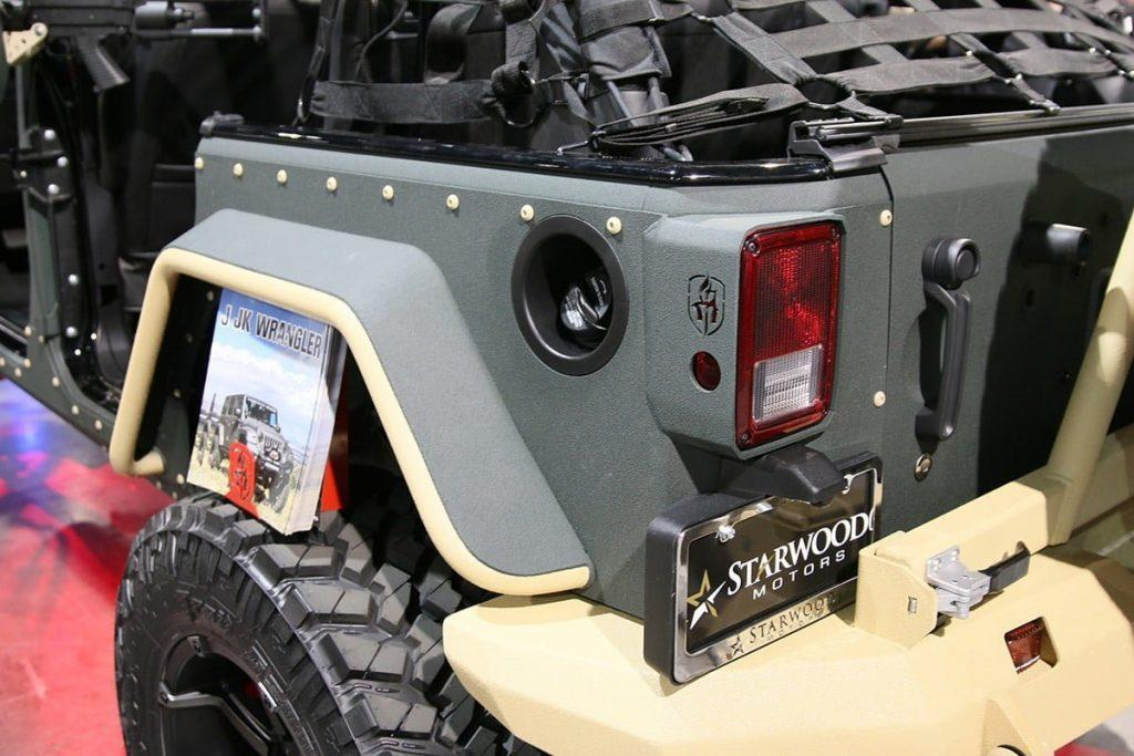 Special Forces Road Armor JK Jeep Wrangler 1