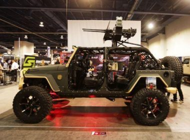 Special Forces Road Armor JK Jeep Wrangler