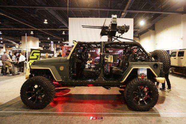 Special Forces Road Armor JK Jeep Wrangler 4