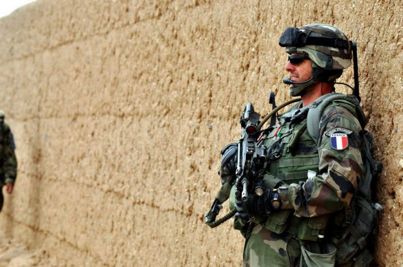 Operator from French Foreign Legion during the deployment in Mali