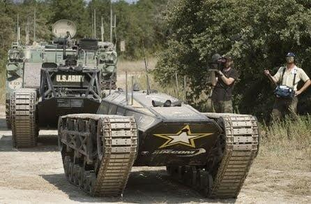 Ripsaw MS1 Tactical UGV