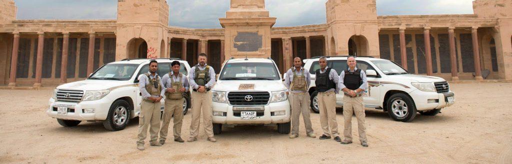 Erinys PMC members in Iraq