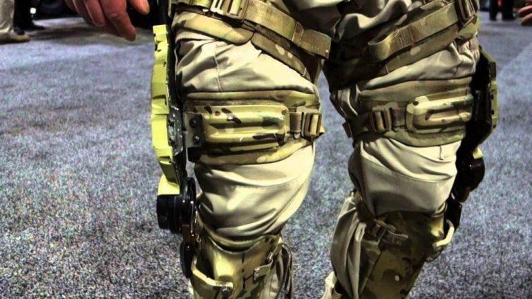 MIlitary tehcnology - exoskeletons