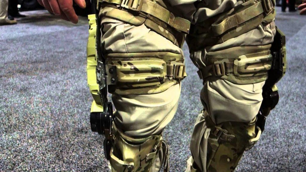 MIlitary tehcnology - exoskeletons