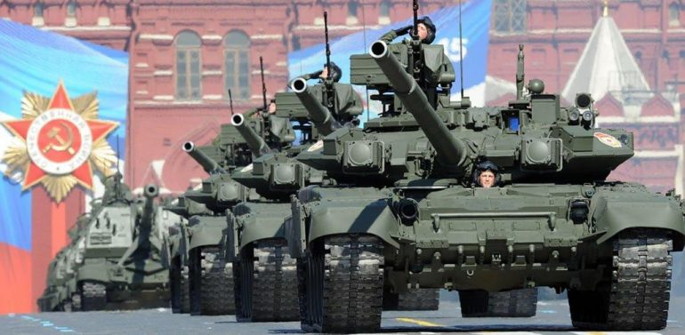 Russian military parade 2015 V-Day (Victory Day)