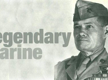 Lieutenant General Lewis 'Chesty' Puller as the most decorated marine in the US Marines Corps history