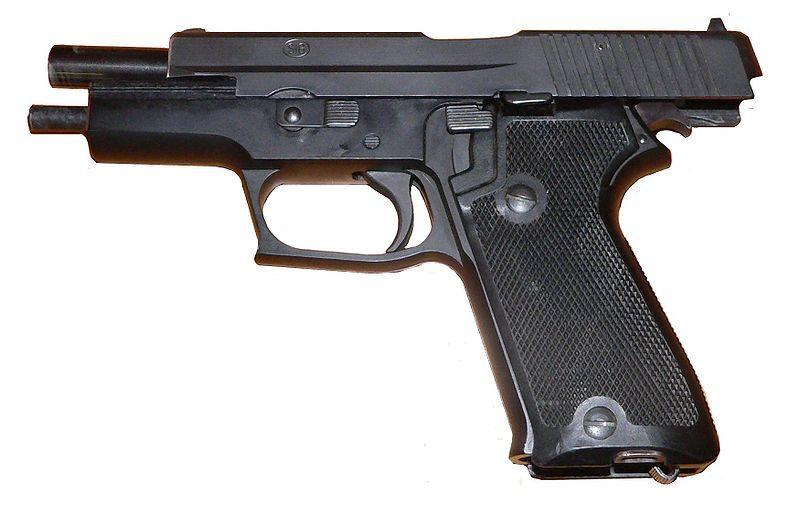 P220 Swiss military model without an external safety