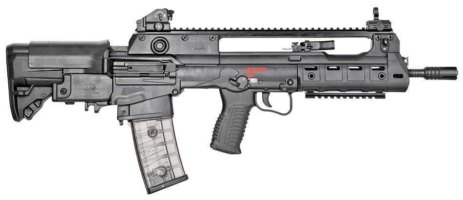 HS Produkt VHS-K2 assault rifle chambered in 5.56mm NATO caliber
