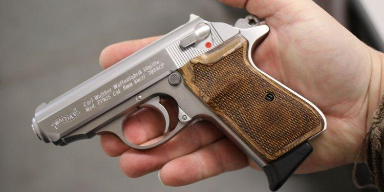 Walther PPK was featured as personal weapon of James Bond, a secret agent from the Ian Flemming's novel