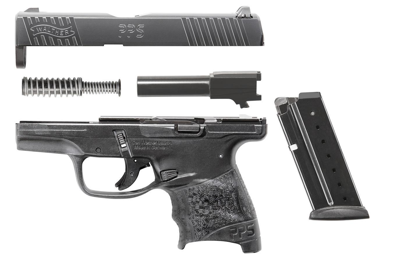 Walther PPS M2 chambered in 9 mm is ideal for concealed carry