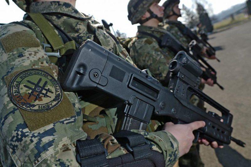 croatian assault rifle hs produkt VHS