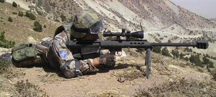 Barrett M95 .50 cal sniper rifle