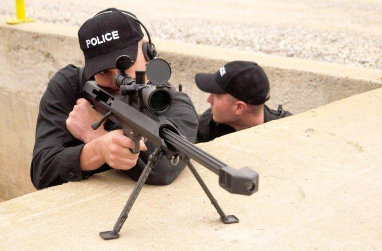 The sniper rifle - Barrett M99 .50 cal