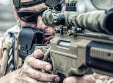 Barrett Sniper Rifles chambered in ,50 cal used as tactical advantage on the field