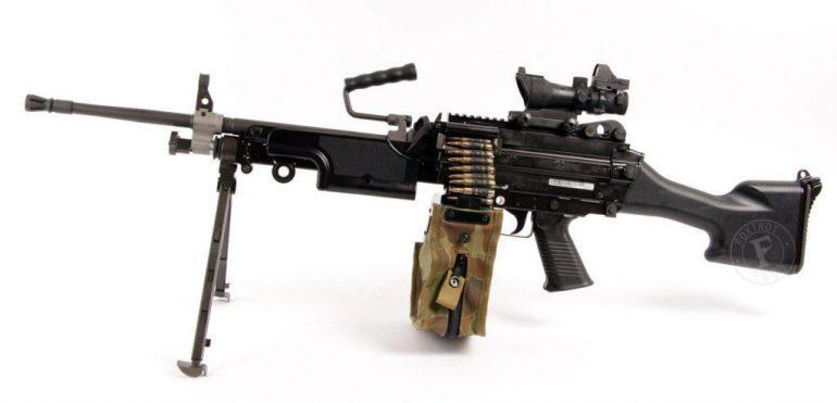 FN Minimi light machine gun dubbed as the best machine gun in the world
