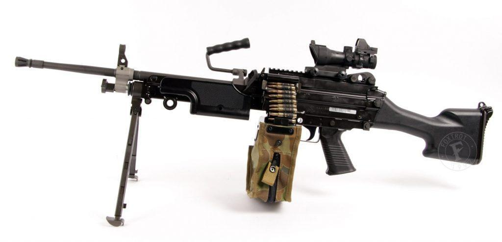 FN Minimi light machine gun dubbed as the best machine gun in the world