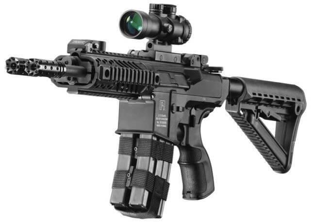 Gilboa Snake DBR twice deadly as na AR-15