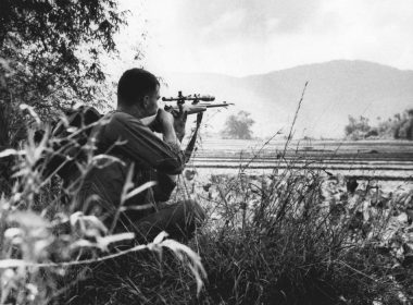 USMC sniper in Vietnam war