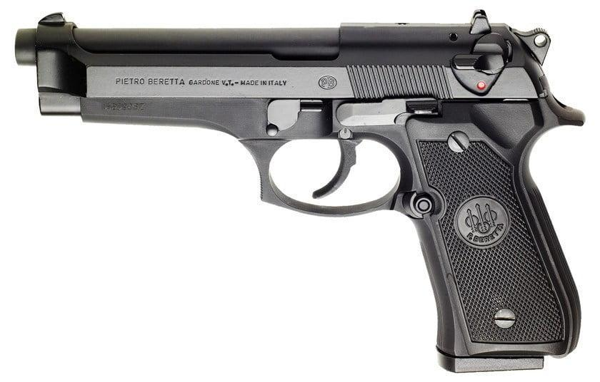 Standard Beretta 92 model (US Army M9)