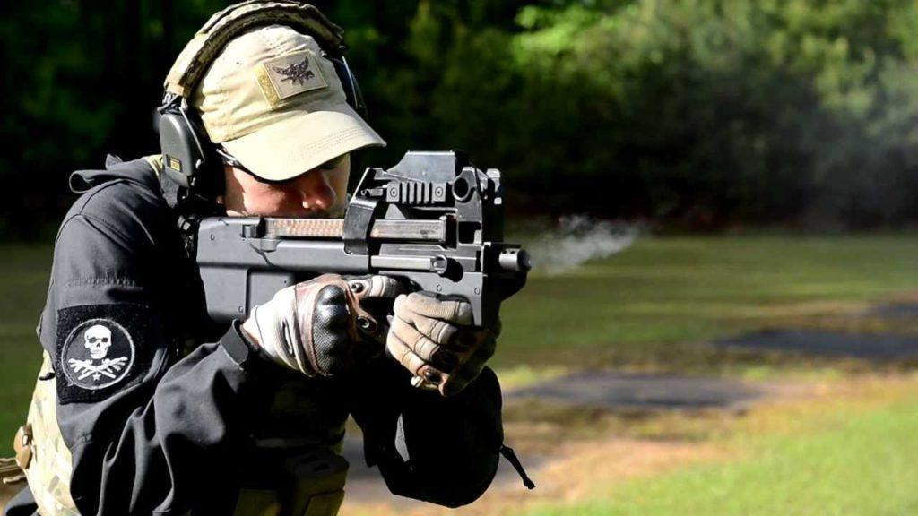 Submachine gun FN P90 5.7