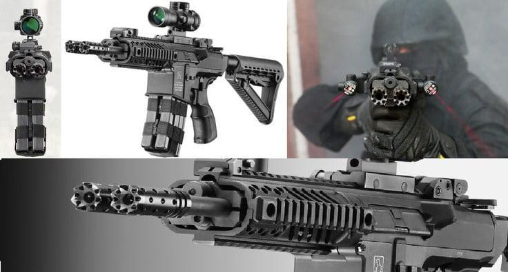 Gilboa Snake is a series of rifles, SMGs and DMR in calibers ranging from .223 REM ,9mm, 7.62X39 mm and 300 Blackout