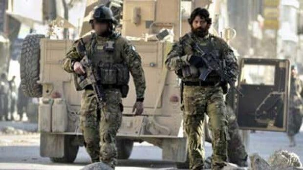 The two NZSAS operators from the Sabre Squadrons in Afghanistan
