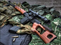 Dragunov SVD - combat sniper or designated marksman rifle