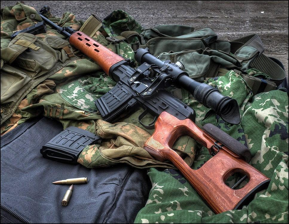 Dragunov SVD - a most used sniper rifle