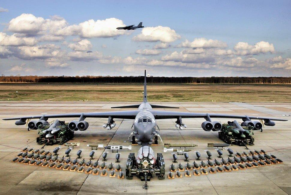 Boeing B-52 Stratofortress to be used in US-led bombing campaing in Iraq and Syria
