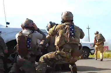US Navy SEALs in hard firefight with ISIS militants