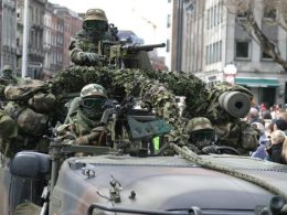 Irish Special Forces On Their Way to Mali 2020 image