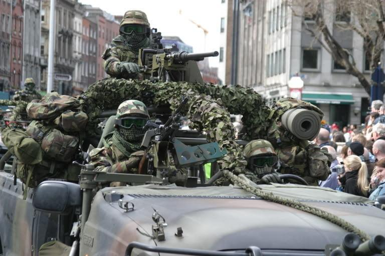 Army Ranger Wing ARW - Irish Special Forces On Their Way to Mali