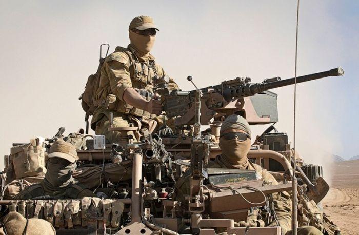 SASR Australia Special Forces operator