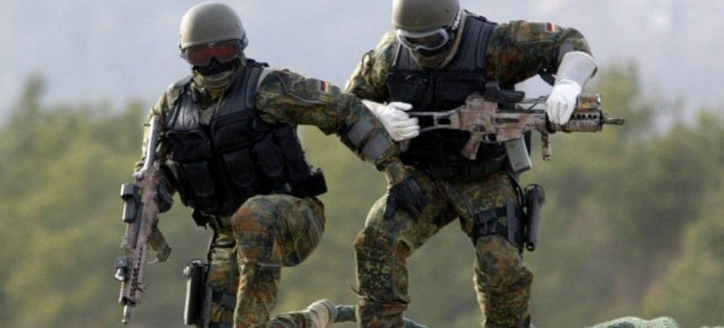 German KSK Kommando Spezialkräfte (Special Forces Command, KSK)