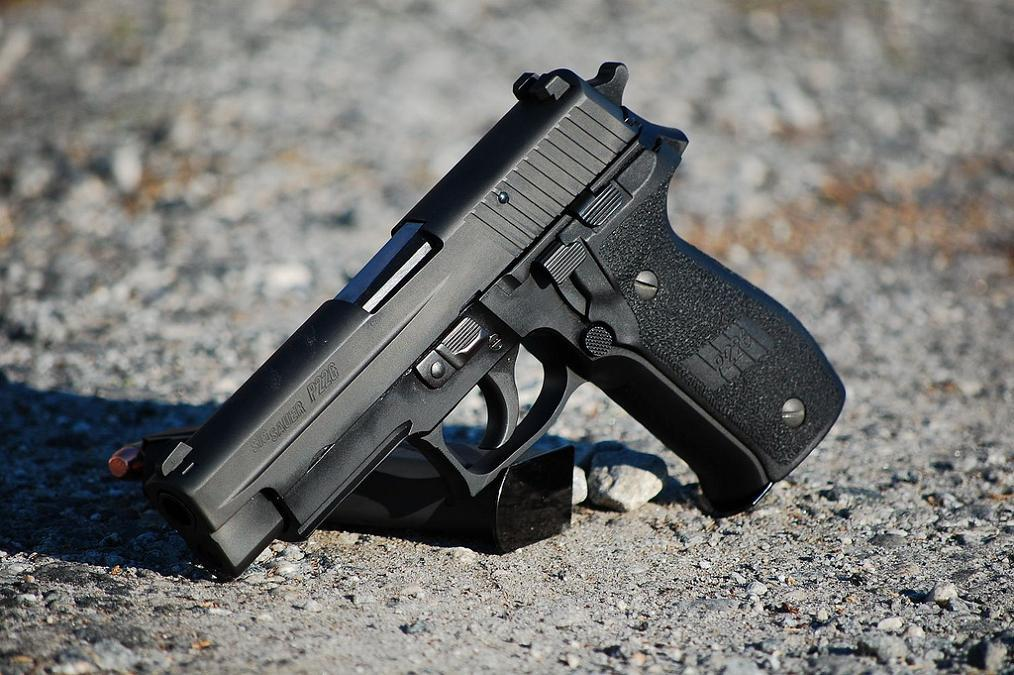 Improved, high capacity version of the SIG-Sauer P220 pistol