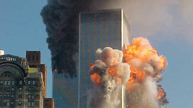 Moment of impact the south tower is hit - 7 pictures of 9/11 that show you why you should never forget