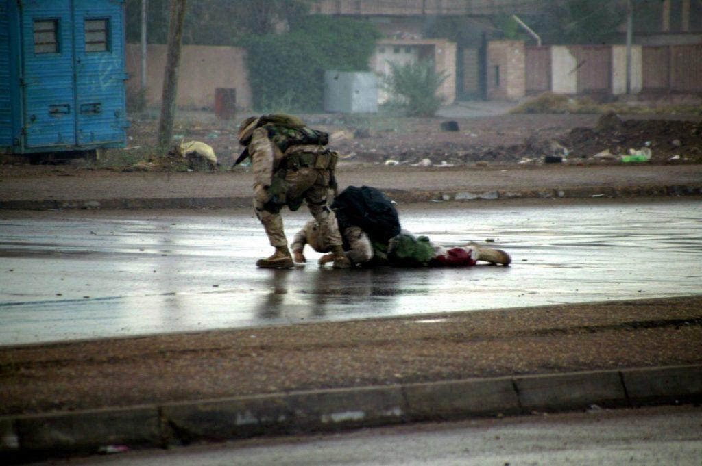 Uncommon valor during the Second Battle of Fallujah - Ryan P. Shane operation Phantom Fury