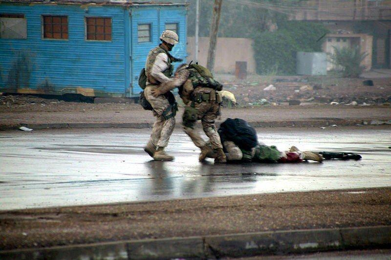 ryan p shane fallujah bravery second - Uncommon valor on the Streets of Fallujah