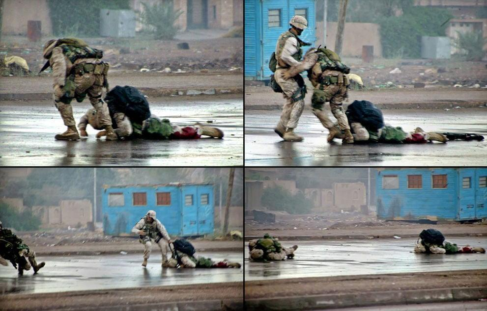 ryan p shane fallujah bravery zero - Extraordinary Bravery on the Streets of Fallujah