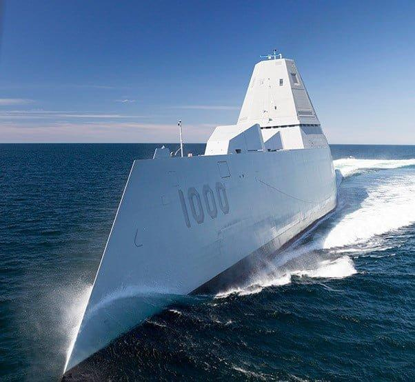 zumwalt1 - Top 5 modern Naval Destroyers 2016