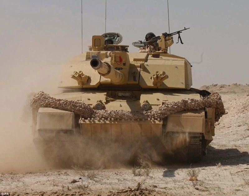 British Main Battle Tank (MBT) Challenger 2