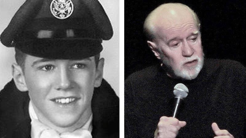 George Carlin Military Career