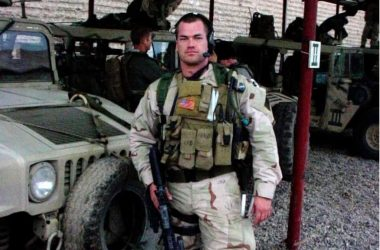 Navy SEAL Jocko Willink in Iraq
