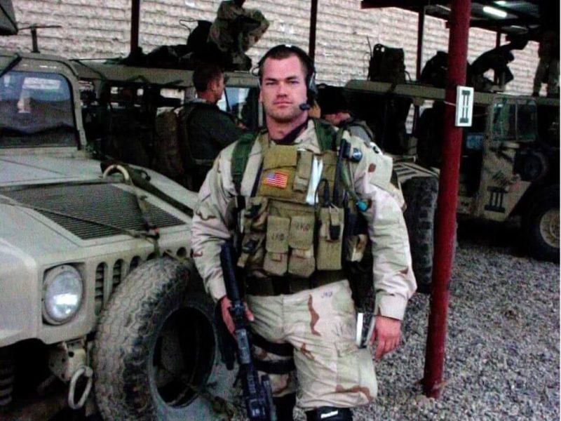 Navy SEAL Jocko Willink in Iraq